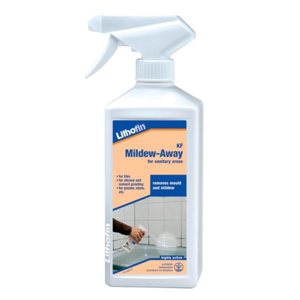 Lithofin KF Mildew Away CDK Stone Tools Equipment Care Product