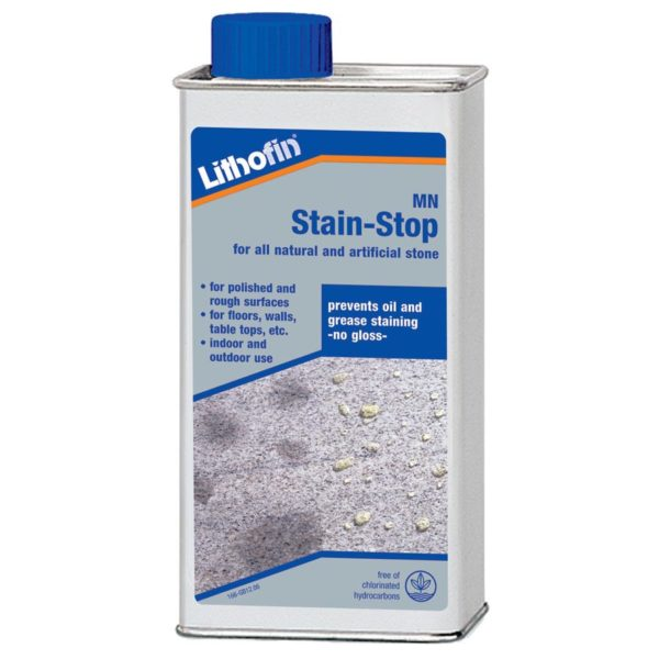 Lithofin MN Stain Stop CDK Stone Tools Equipment Care Product