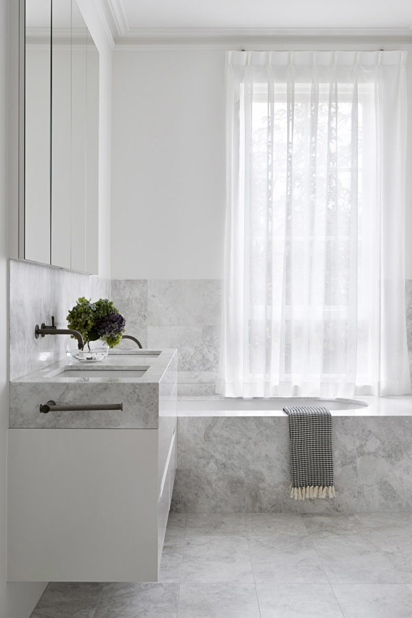 Lorde White Marble CDK Stone Natural Stone Kitchen Bathroom Benchtop Vanity Floor Wall Indoor Outdoor Project Gallery