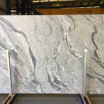 Viscount White Leathered Slab Granite Natural Stone CDK Stone