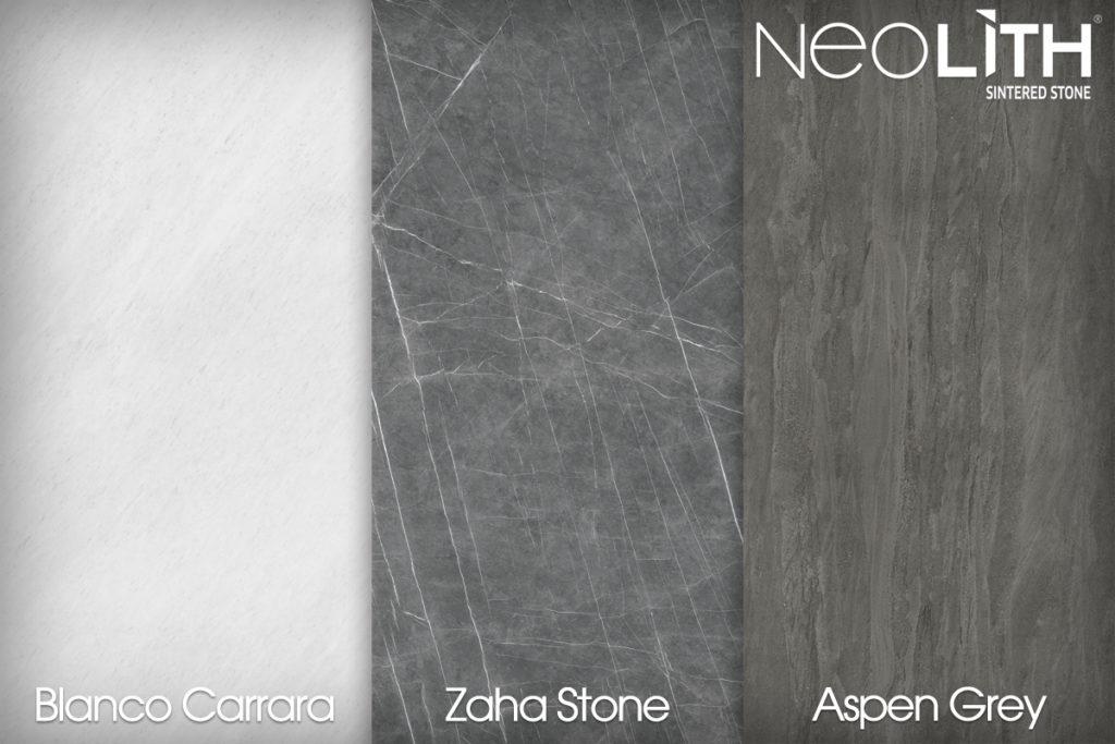 Blanco Carrara BC02 Zaha Stone Aspen Grey Neolith Sintered Stone CDK Stone