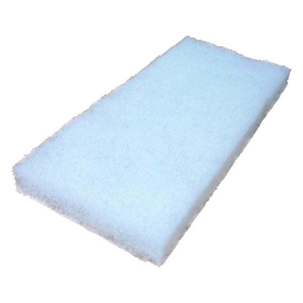 White Nylon Polishing Pad Non-Abrasive Tool Equipment CDK Stone