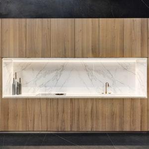Calacatta Neolith CDK Stone Bathroom Kitchen Benchtop Vanity Floor Wall Outdoors Sintered Stone
