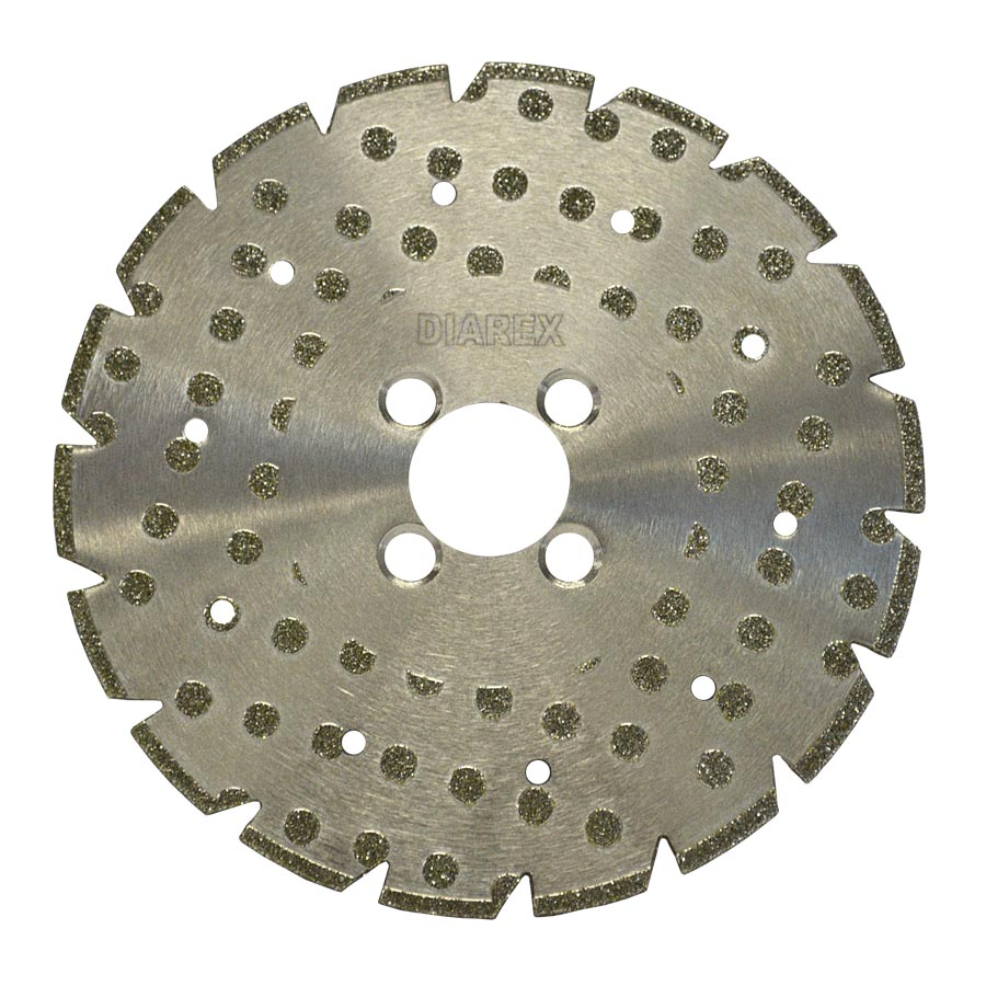 Diarex EMS Electroplated Blade Tools Equipment Machinery CDK Stone