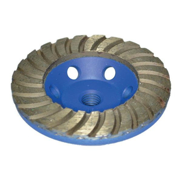 Diarex Turbo Dry Grinding Cup 100mm CDK Stone Tools Equipment
