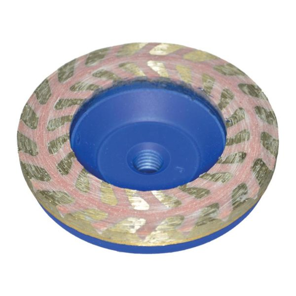 Diarex Resin Filled Dry Grinding Cup 100mm CDK Stone Tools Equipment