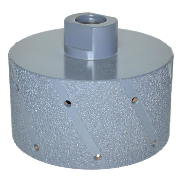 Diarex Vacuum Brazed Grinding Drum M14 75mm Tools Equipment CDK Stone