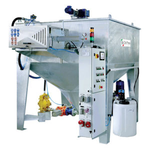 Dal Prete Super Compact Water Filtration System Machinery CDK Stone