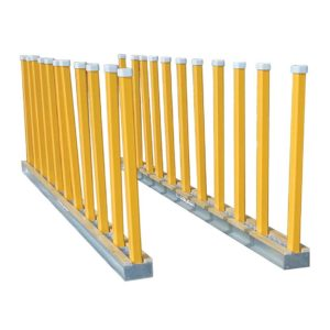 Aardwolf Slab Racking 3m Long Modules Trolley Transporter Tools Equipment CDK Stone