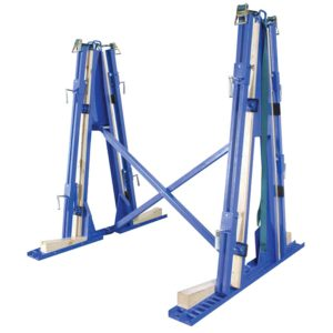 Aardwolf Truck Transport Collapsable 'A' Frame Trolley Transporter Tools Equipment CDK Stone