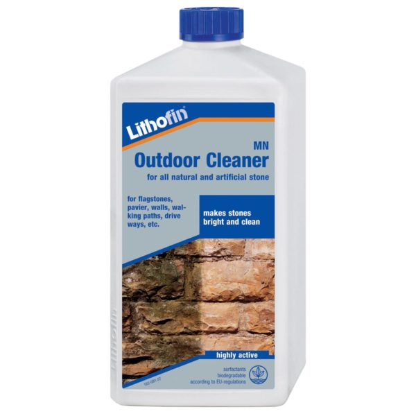 Lithofin MN Outdoor Cleaner CDK Stone Tools Equipment Care Product