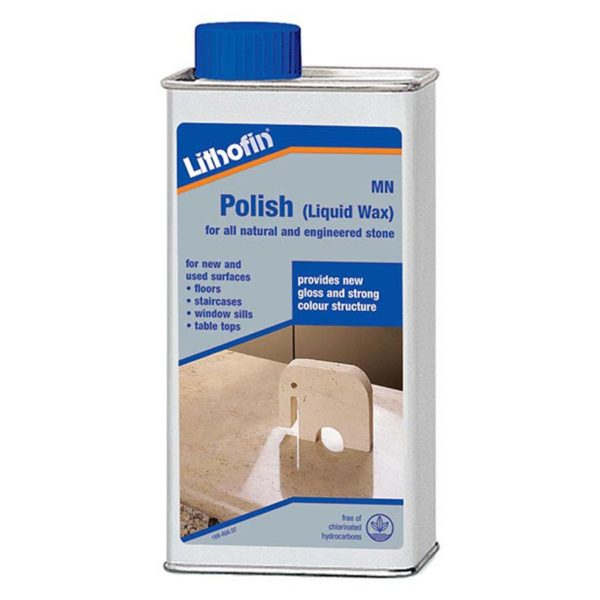 Lithofin MN Polish Liquid Wax CDK Stone Tools Equipment Care Product