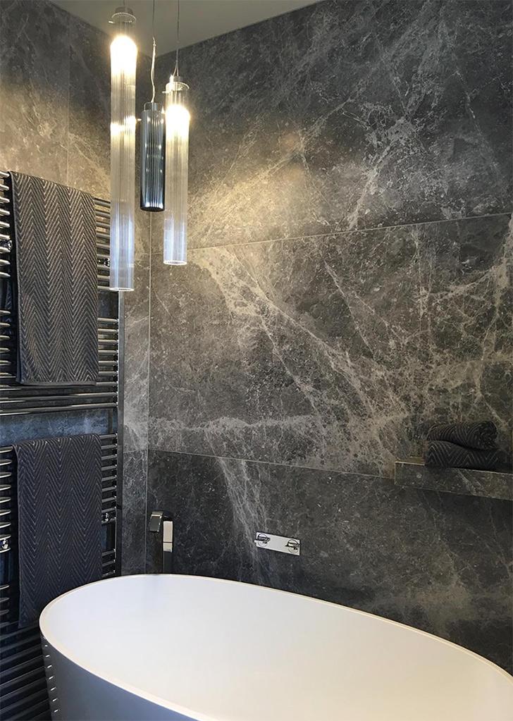 Elegant Grey Limestone Natural Stone CDK Stone
