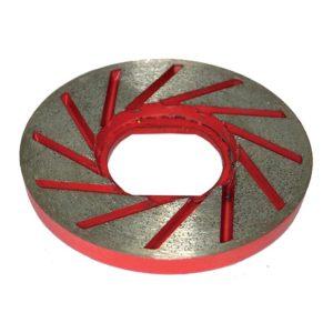 Diarex Tornado Rigid Flat Cup Magnetic Fitting 100mm CDK Stone