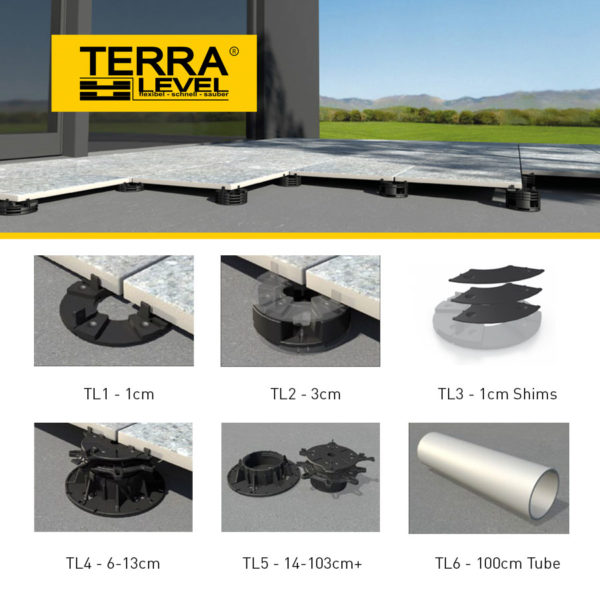Terra Level Tools Equipment CDK Stone Levelling System Tile Tiling Leveller