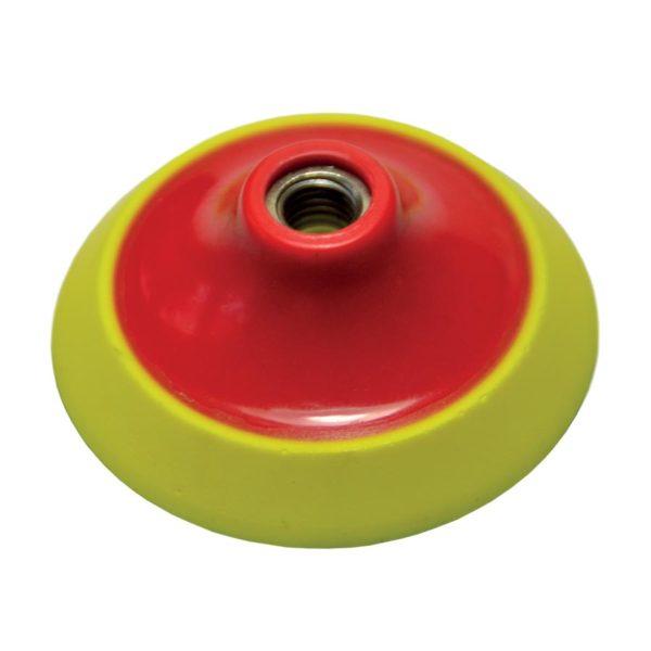 Semi-Rigid Plastic QRS Backing Pad With 10mm Foam Cushion Tool Equipment CDK Stone