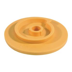 Plastic QRS Backing Plate With Snail Back Tool Equipment CDK Stone