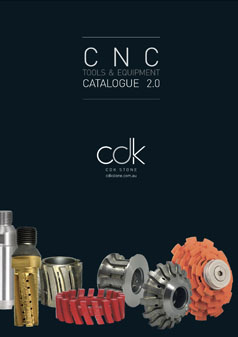 CNC Sintered Stone Engineered Catalogue Brochure Tools Equipment CDK Stone