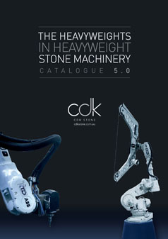 Machinery Catalogue Brochure Tools Equipment CDK Stone