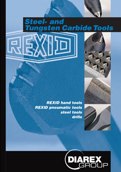 Rexid Catalogue Brochure Tools Equipment CDK Stone