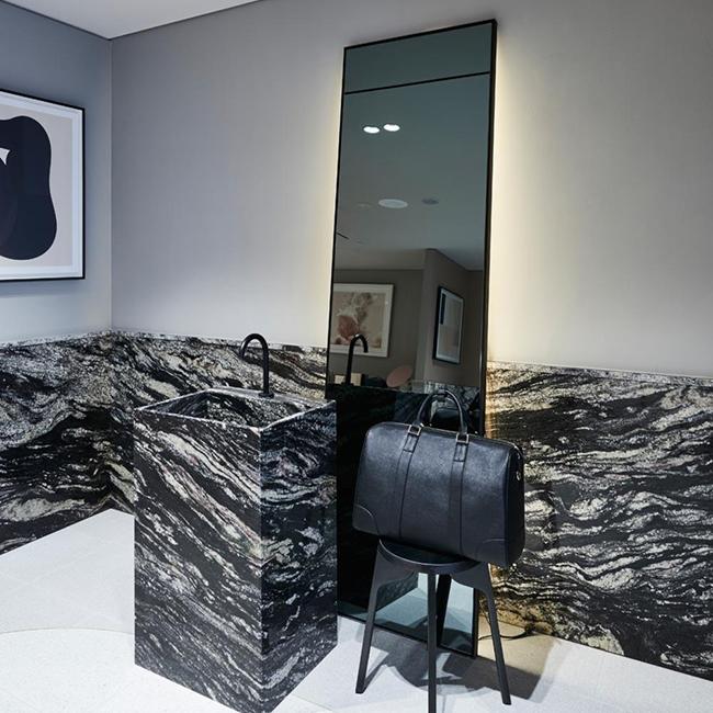 Magma Black Granite TDE The Daily Edited Natural Stone CDK Stone