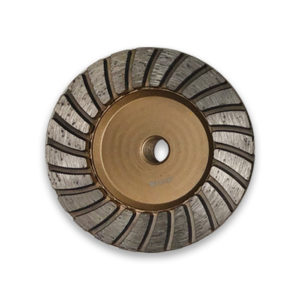 Diarex Pro-Series Grinding Cup 100mm Gold Wheel CDK Stone Tools Equipment