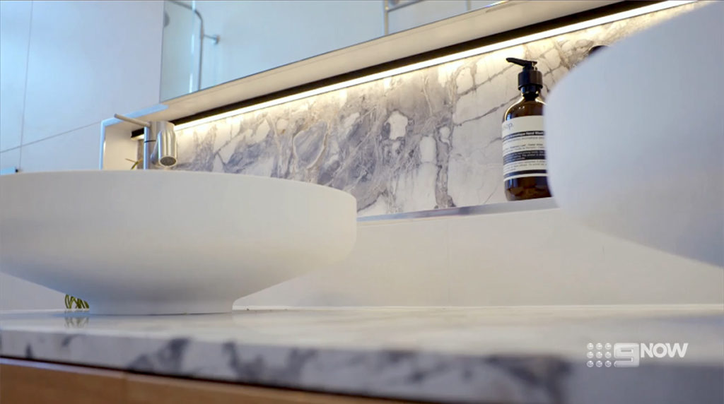 The Block Jess and Norm CDK Stone Marble Cote D'Azure