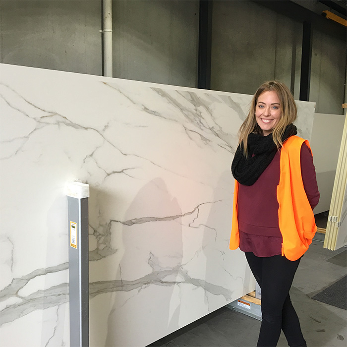 The Block Ronnie and Georgia Neolith CDK Stone
