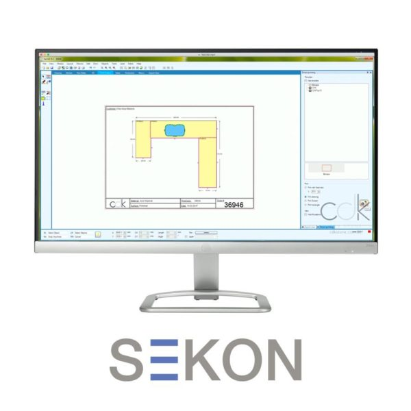 seKON Software CDK Stone Machinery Service Stone Processing