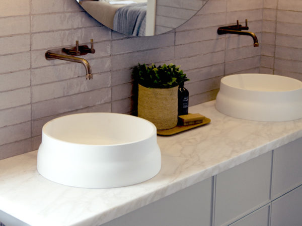 Polar Ice Marble Bathroom Natural Stone CDK Stone
