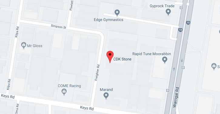CDK Stone Locations Stores Moorabbin Melbourne Victoria