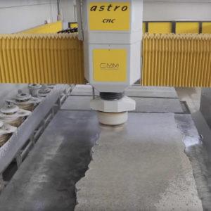 GMM Astro Machinery CDK Stone Installation Service Factory Stone Polishing Processing CNC