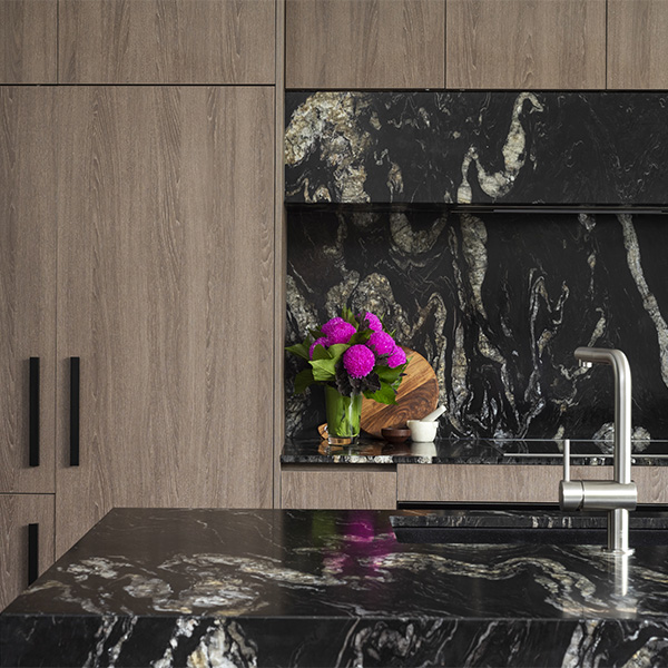 Titanium Granite CDK Stone Natural Stone Kitchen Bathroom Benchtop Vanity Floor Wall Indoor Outdoor Project Gallery