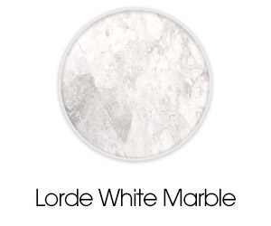 Lorde White Marble CDK Stone