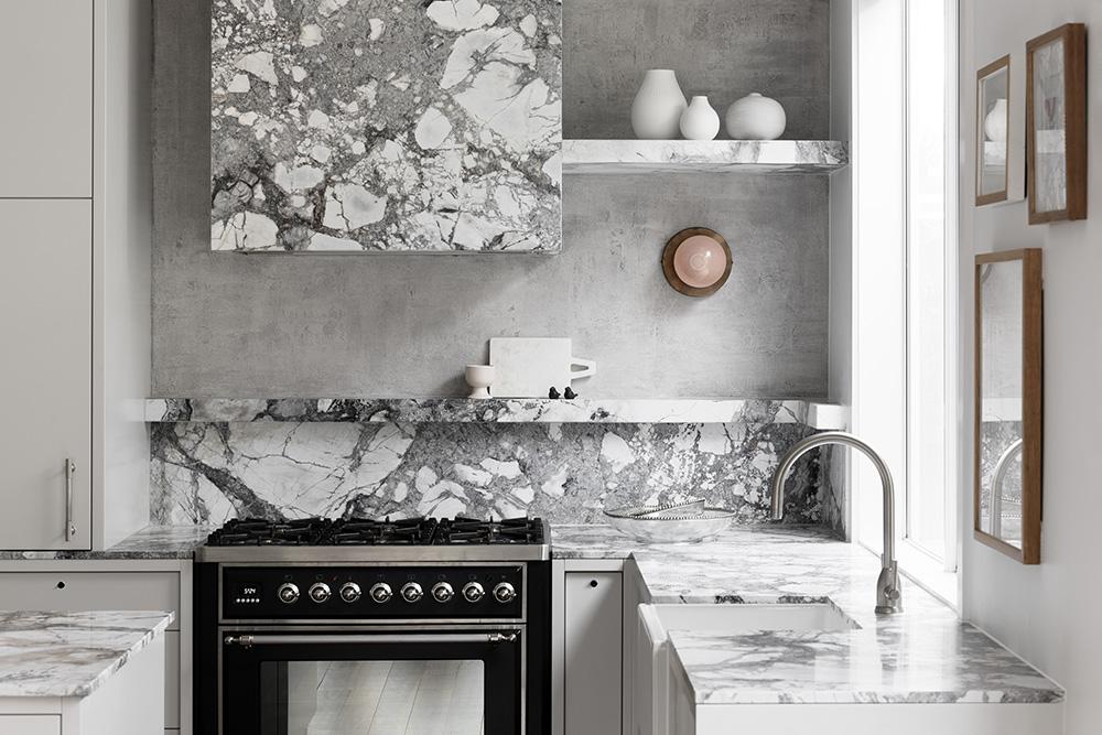Cote d'Azur Marble Kitchen Natural Stone CDK Stone