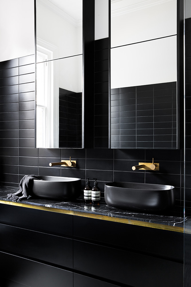 Nero Marquina Marble Bathroom Natural Stone CDK Stone