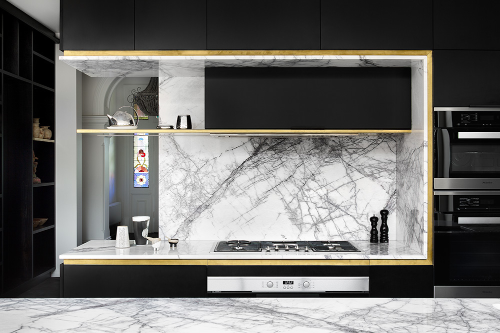 New York Marble Kitchen Natural Stone CDK Stone