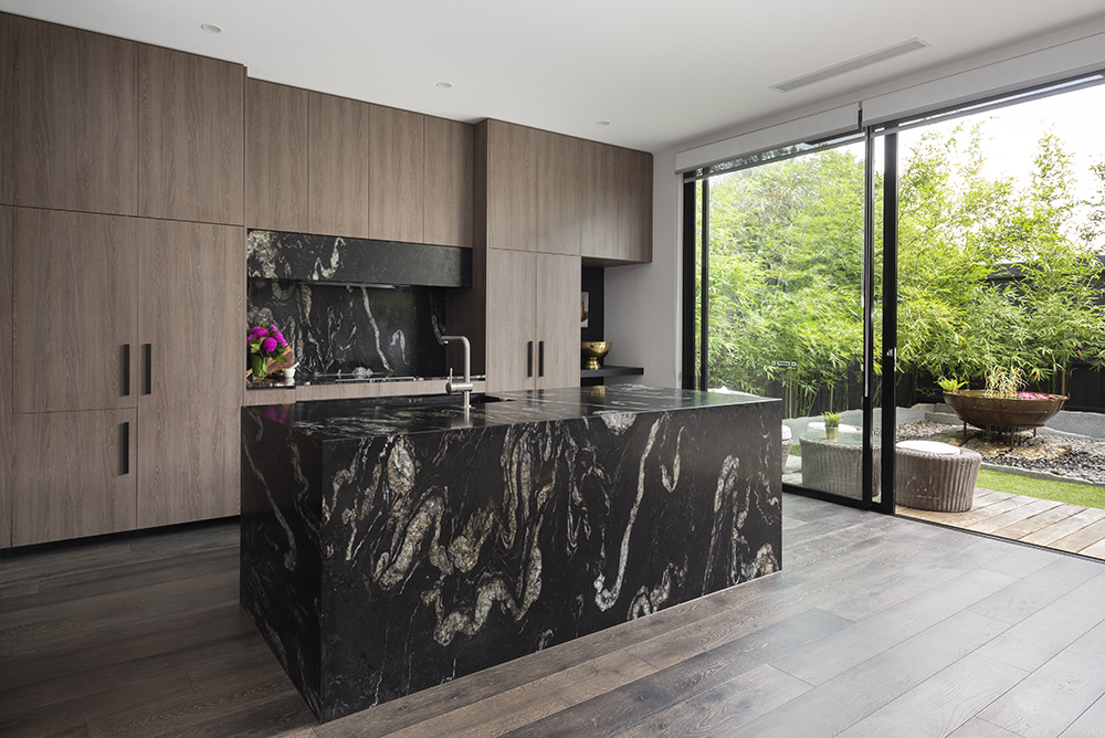 Titanium Granite Kitchen Natural Stone CDK Stone