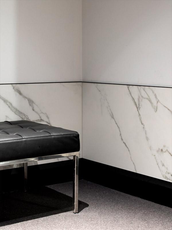 Neolith Calacatta Wall Sintered Stone Kitchen Benchtops Bathrooms Floors Walls Vanity BBQ Indoor Outdoor CDK Stone