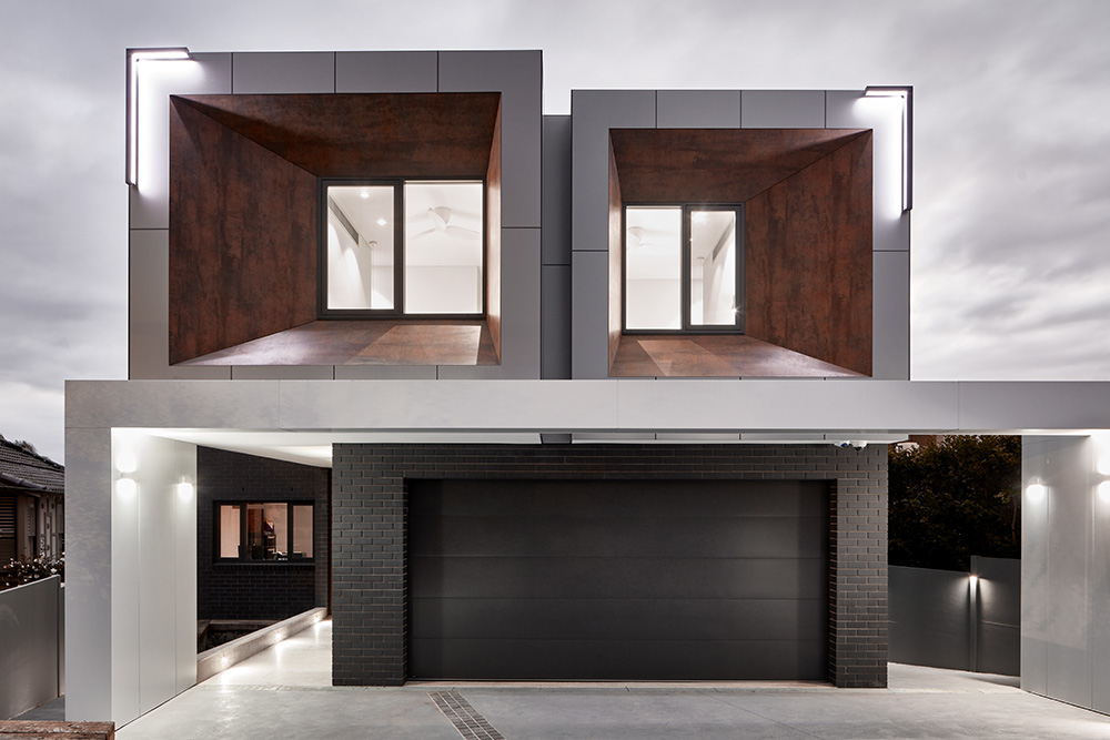 Neolith Iron Corten Facade Sintered Stone Kitchen Benchtops Bathrooms Floors Walls Vanity BBQ Indoor Outdoor CDK Stone