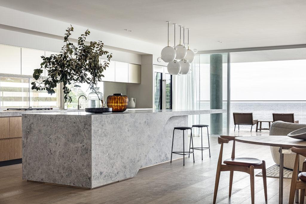 New Savior Limestone Kitchen Natural Stone CDK Stone Benchtop Kitchen