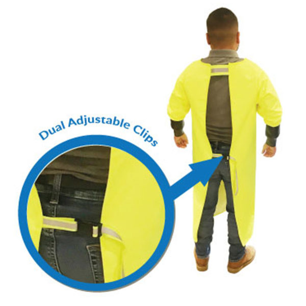 Alpha Long Sleeve Wet Apron Wet Processing Tools Equipment Safety Equipment