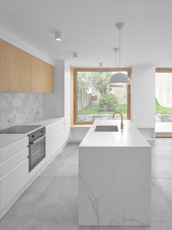 Neolith Estatuario Kitchen Sintered Stone Kitchen Benchtops Bathrooms Floors Walls Vanity BBQ Indoor Outdoor CDK Stone